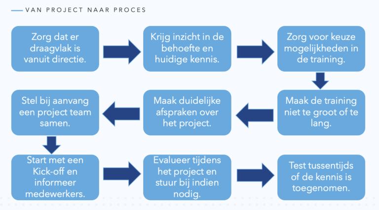 Van project naar proces